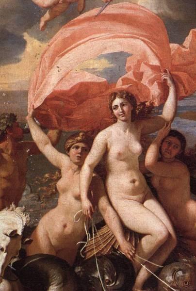 Poussin The Triumph of Neptune detail1